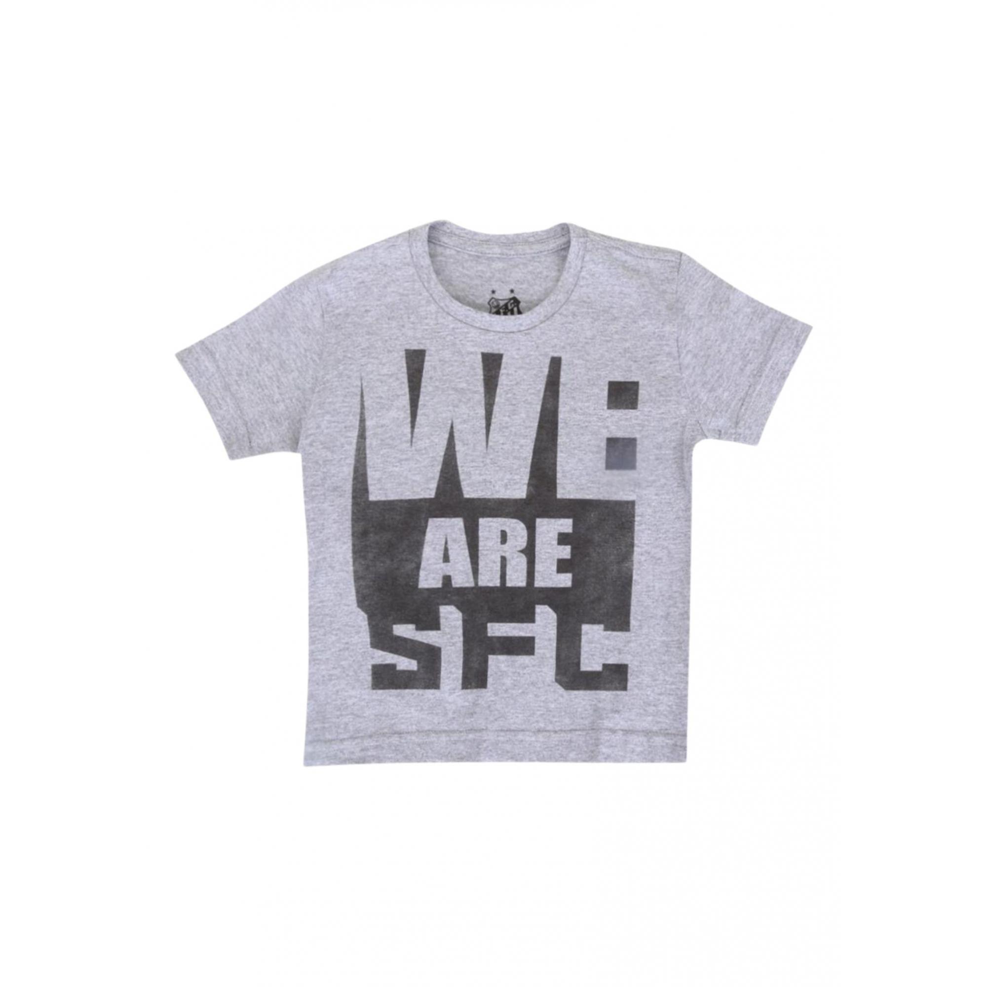 Camisa Santos infantil we are