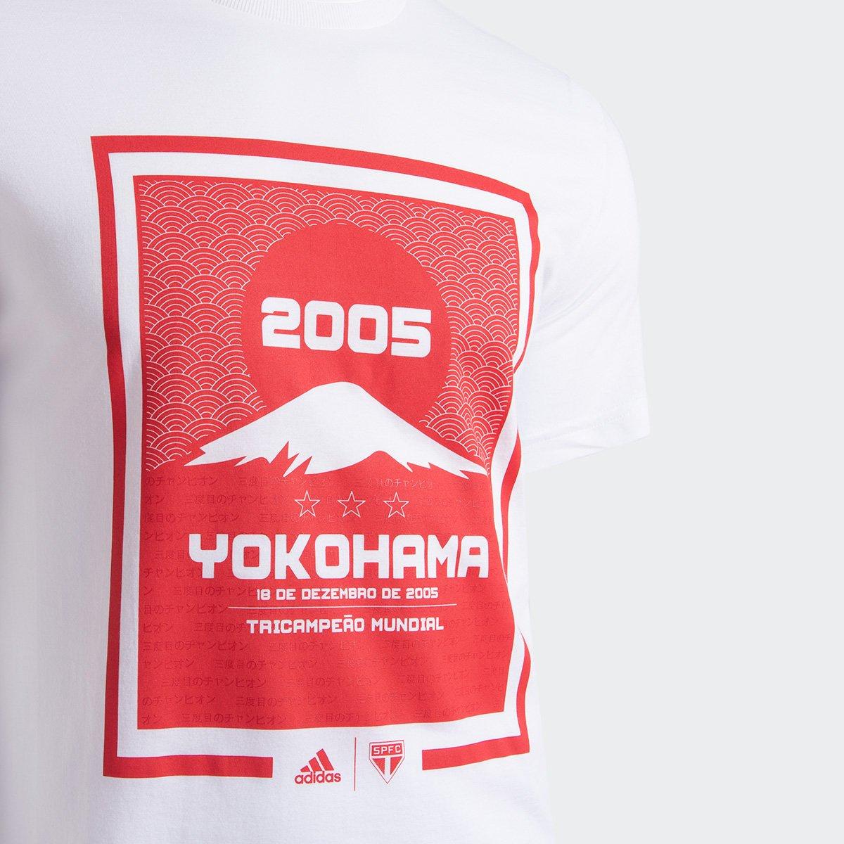 Camisa São Paulo 2005 Yokohama