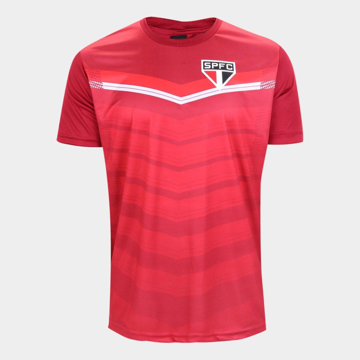 Camisa São Paulo britt SPR - vermelha