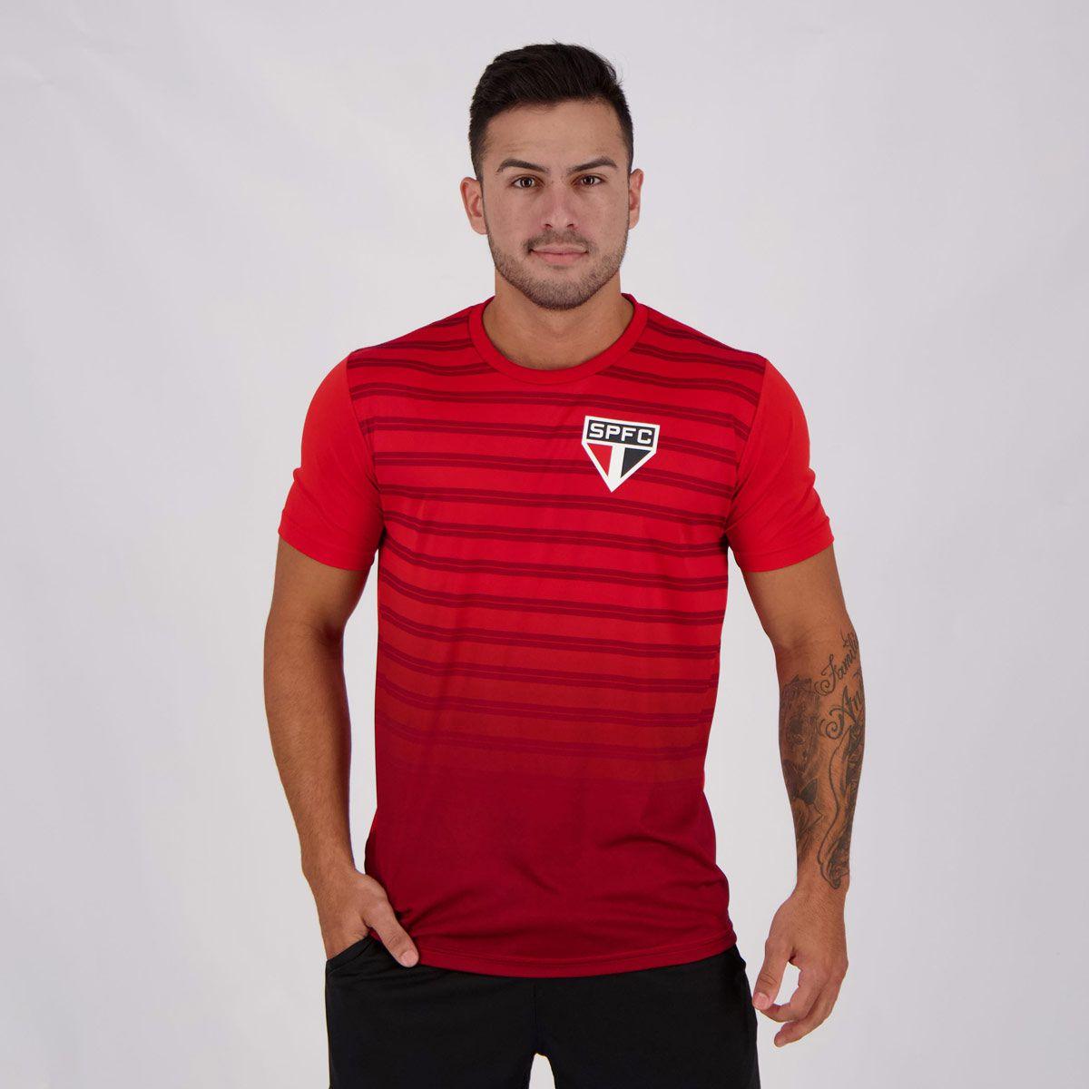 Camisa São Paulo Vermelha Croma SPR - Masculino