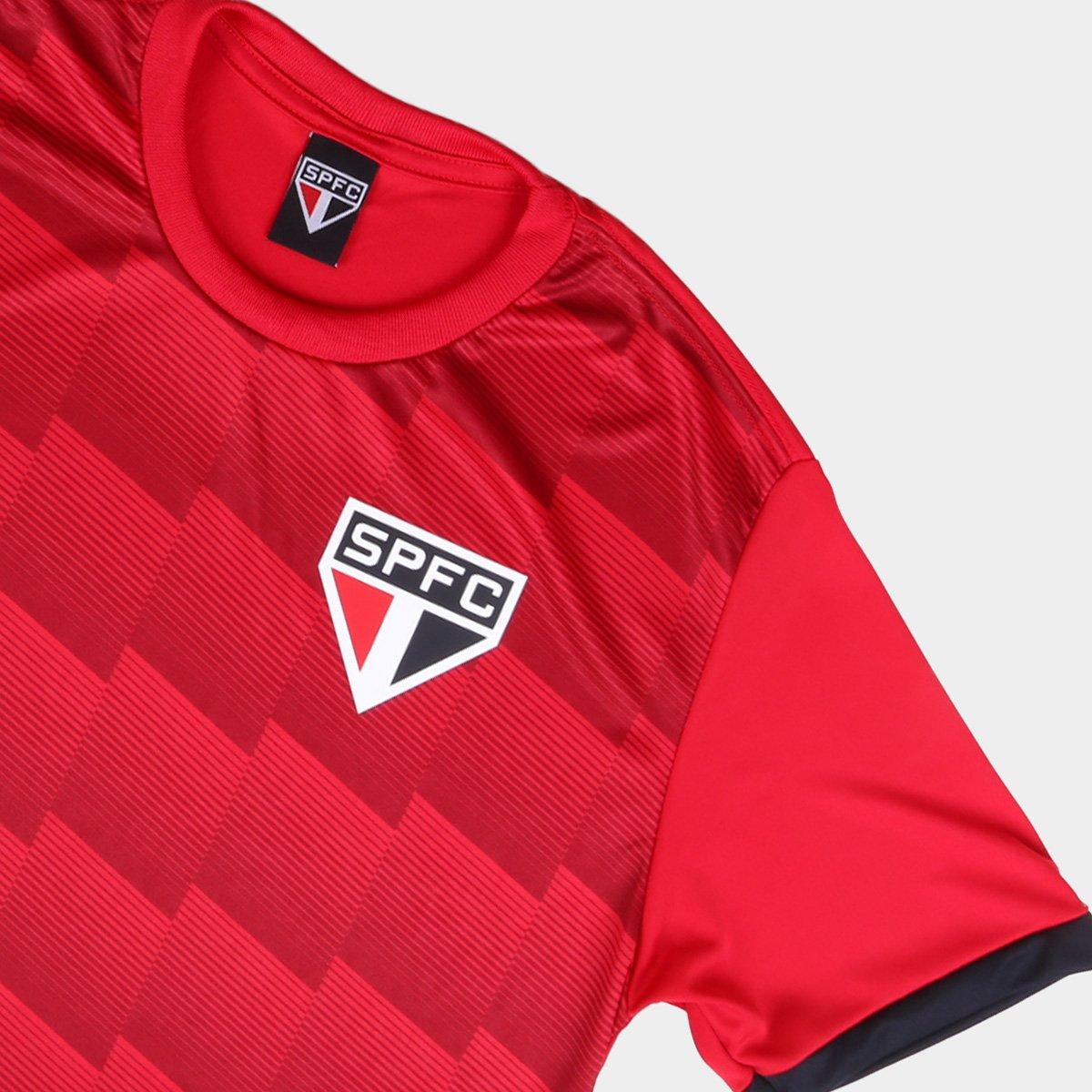 Camisa São Paulo Speed SPR - vermelha