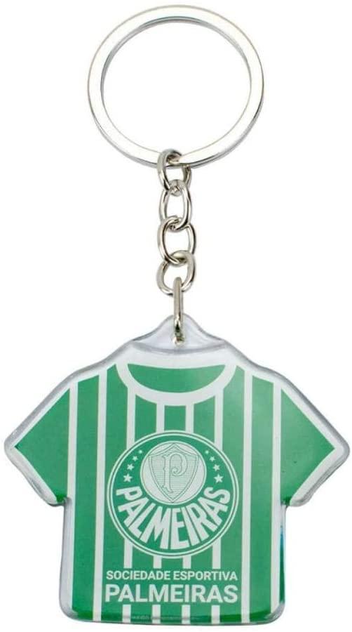 Chaveiro Palmeiras plástico camisa MINAS