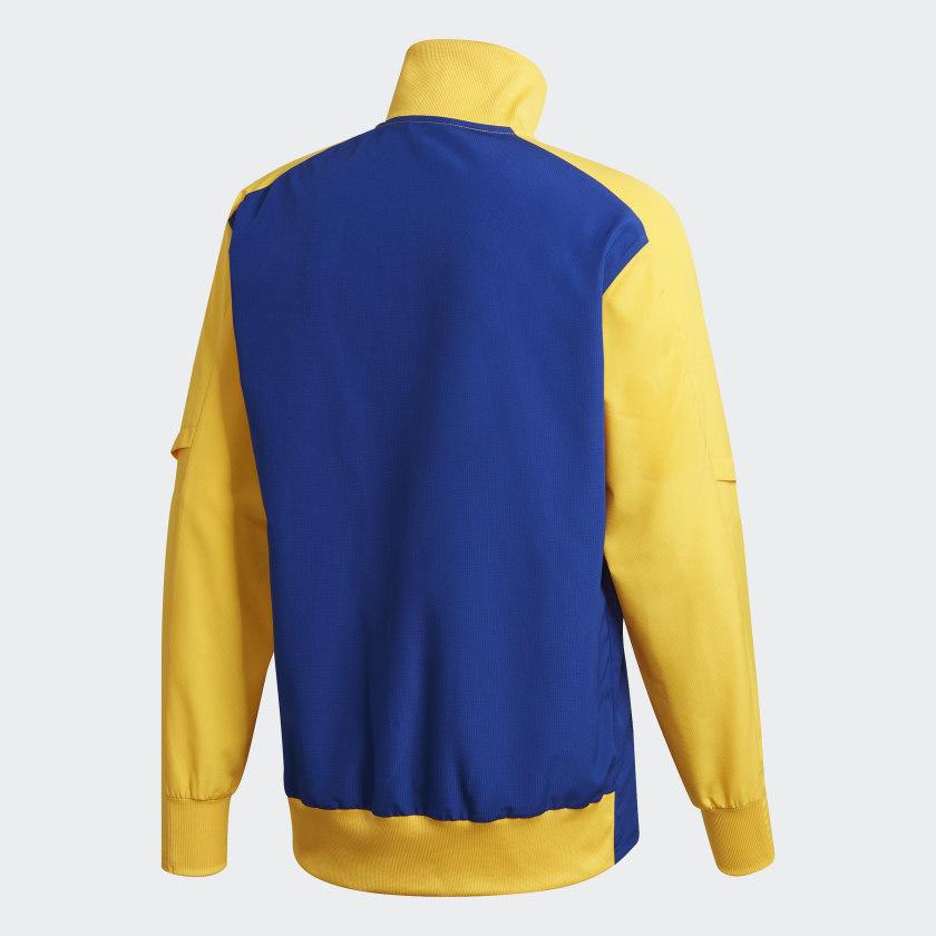 Jaqueta Boca Juniors Corta Vento Adidas