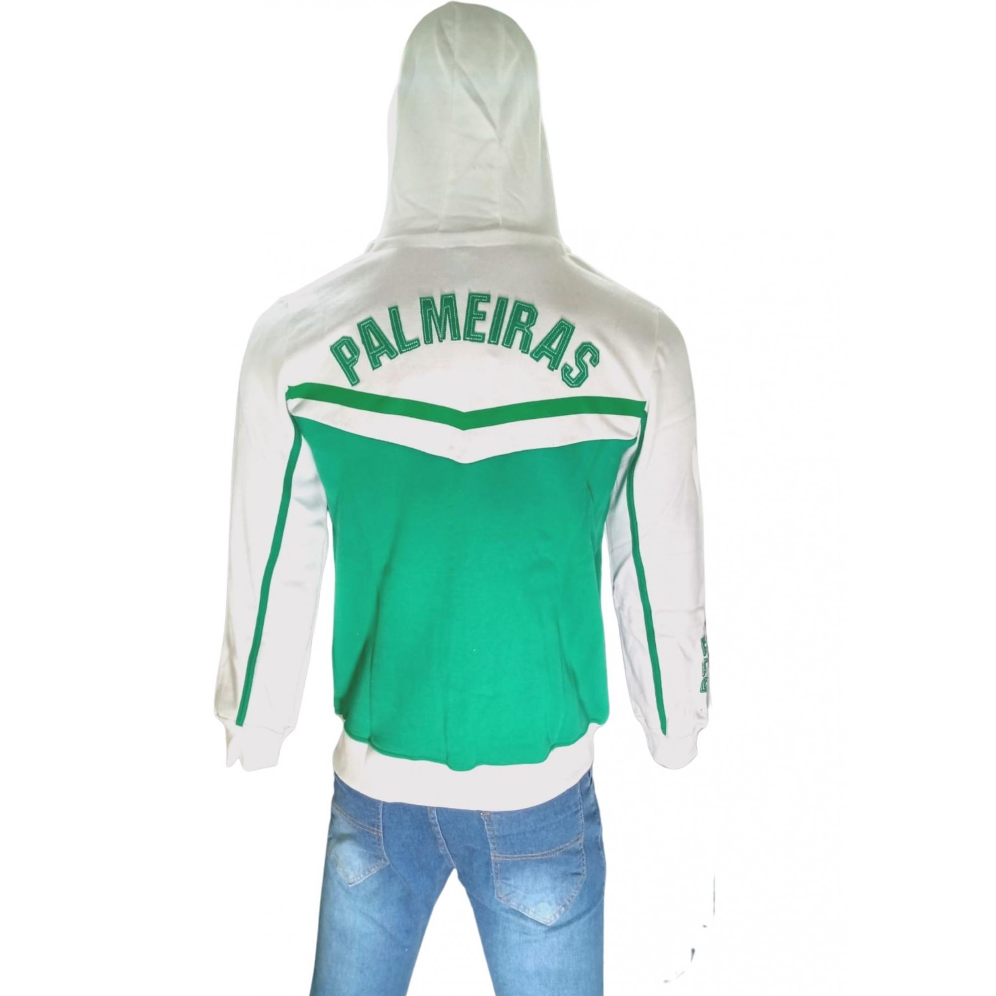 Jaqueta Palmeiras moletom com capuz