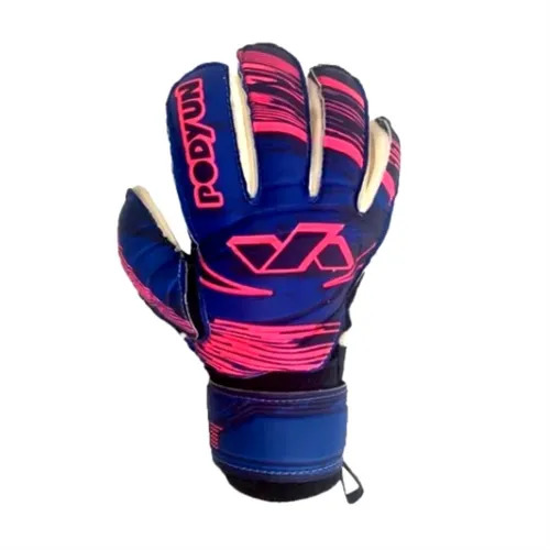 Luva de Goleiro Profissional Vollare Podyun - Azul-Marinho-Pink
