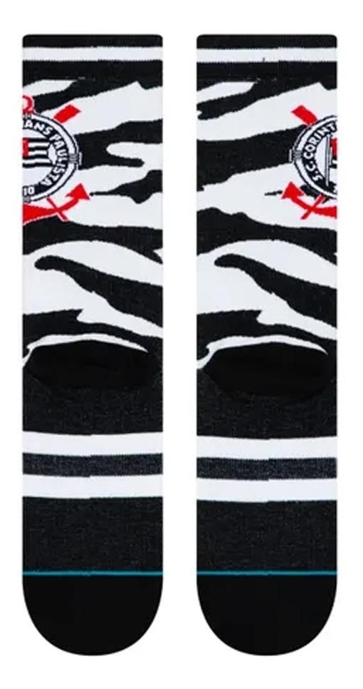 Meião Corinthians Stance Tiger Cano Alto