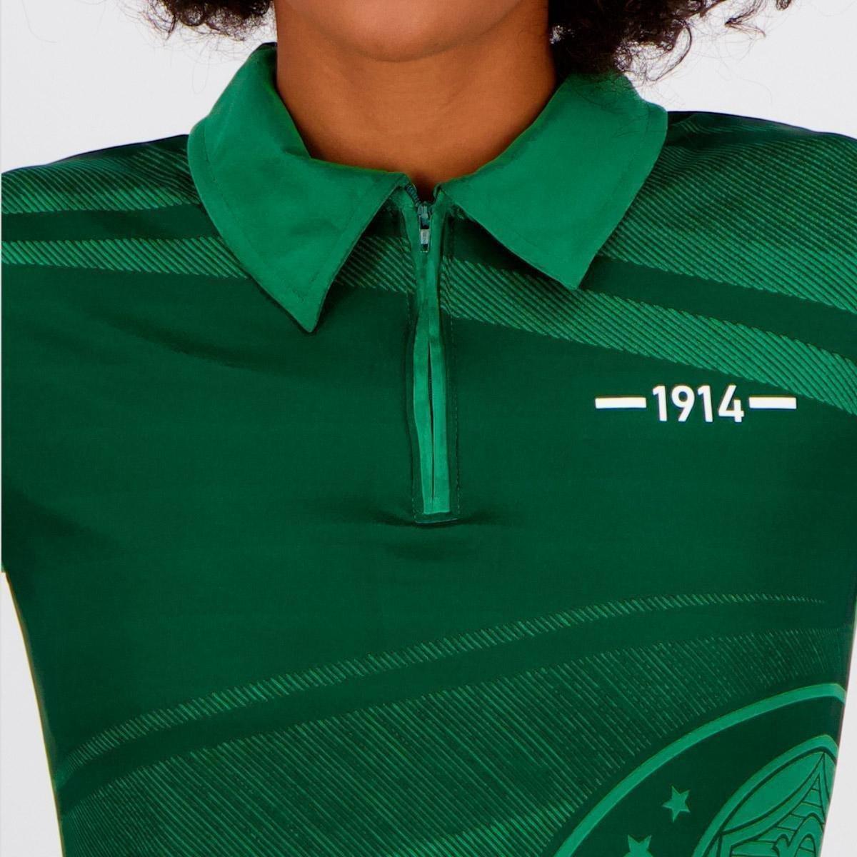 Polo Palmeiras feminina waves