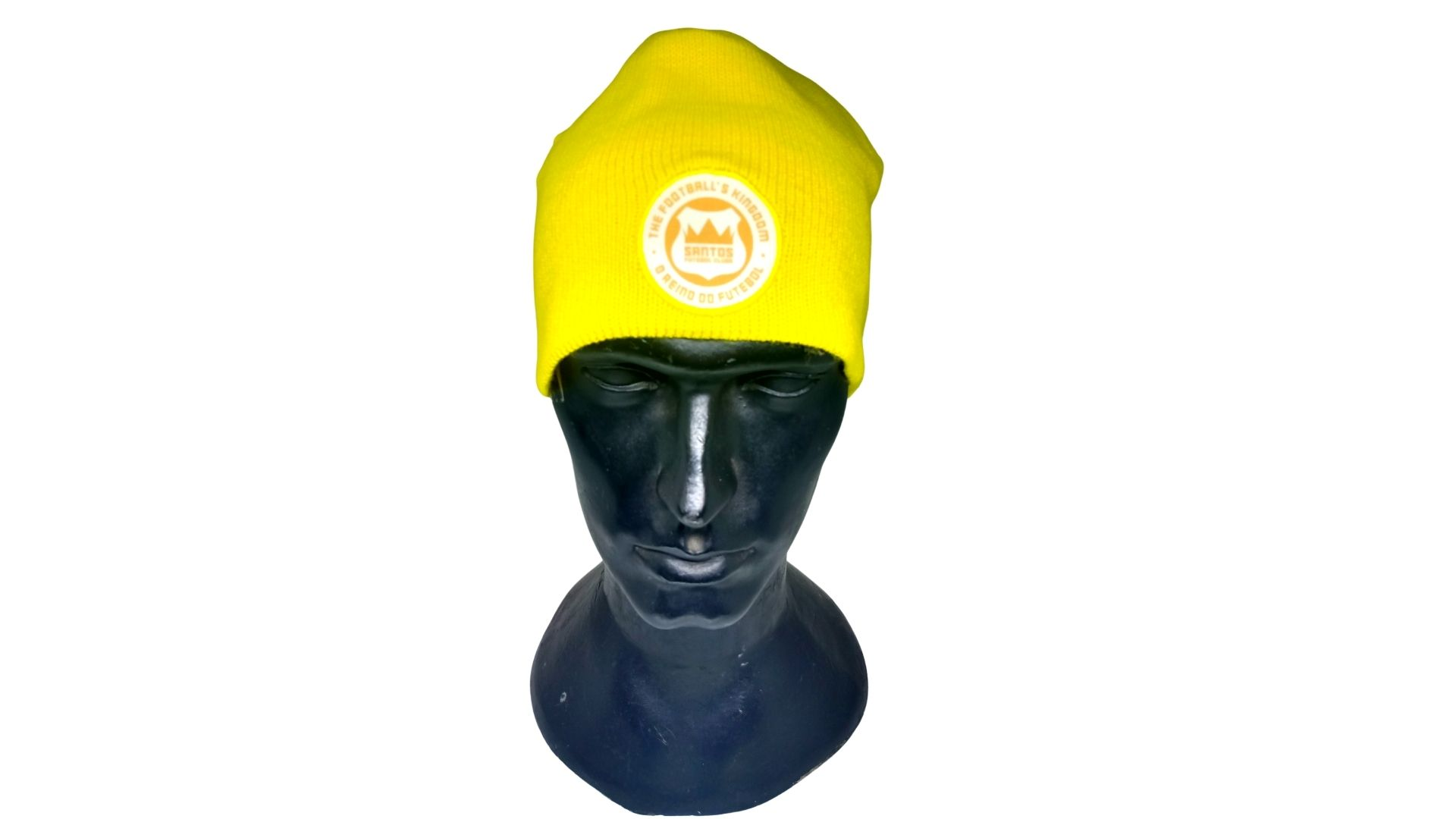 Touca Santos dupla face mlk zica - amarela