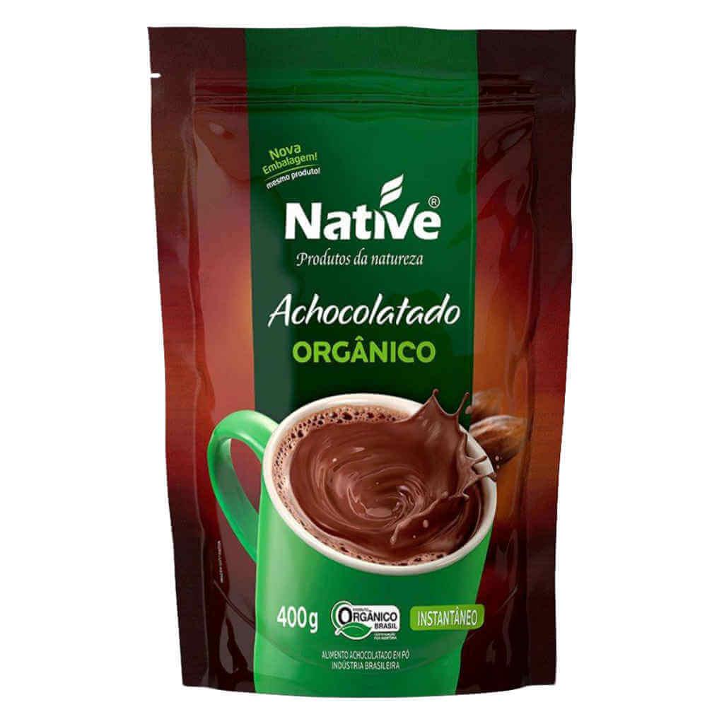 Achocolatado Orgânico 400g - Native (Kit c/ 3 unidades)