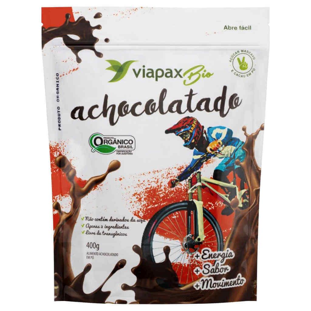 Achocolatado Orgânico 400g - Viapax Bio (Kit c/ 3 unidades)  - Raiz Nativa - Loja de Produtos Naturais e Orgânicos Online