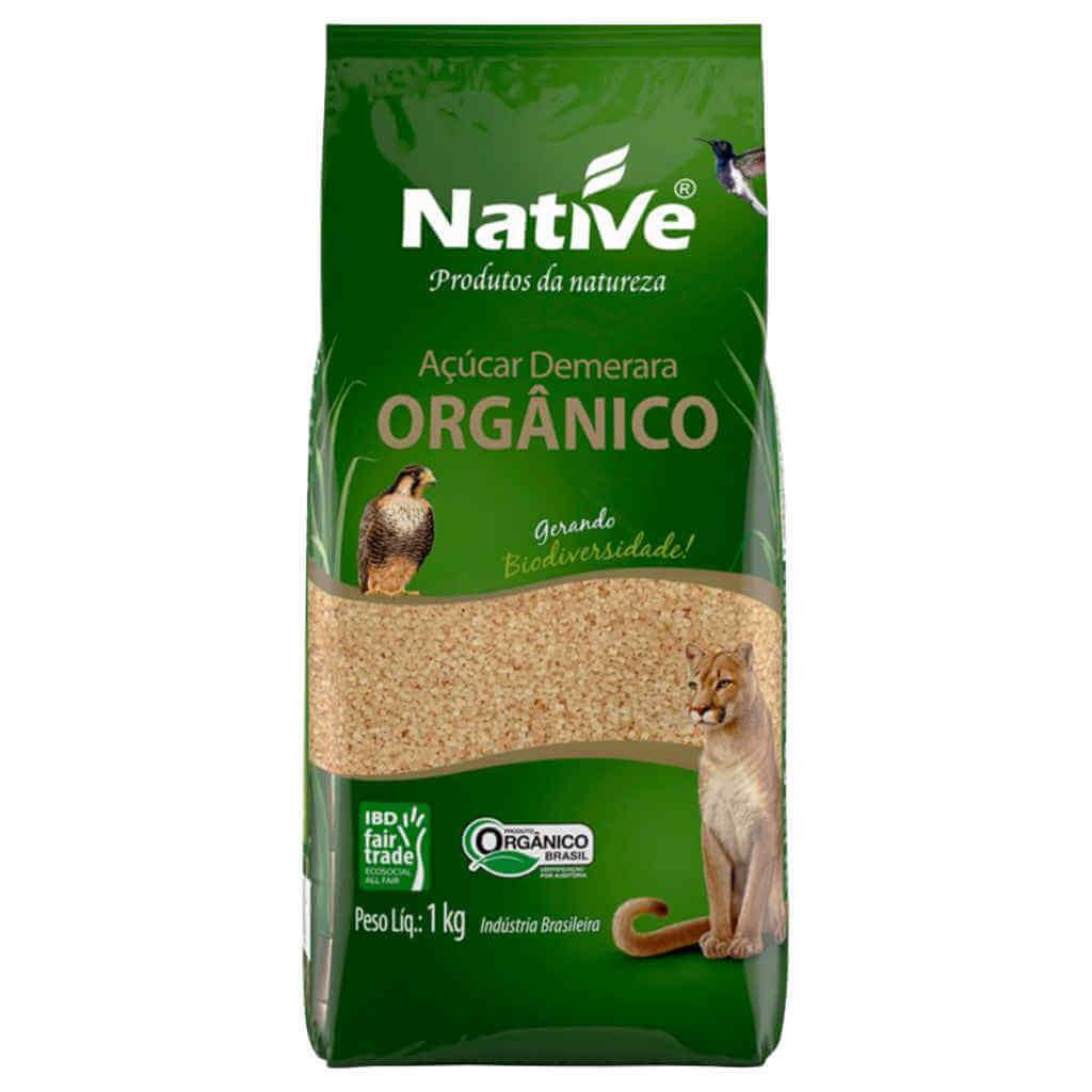 Açúcar Demerara Orgânico 1kg - Native