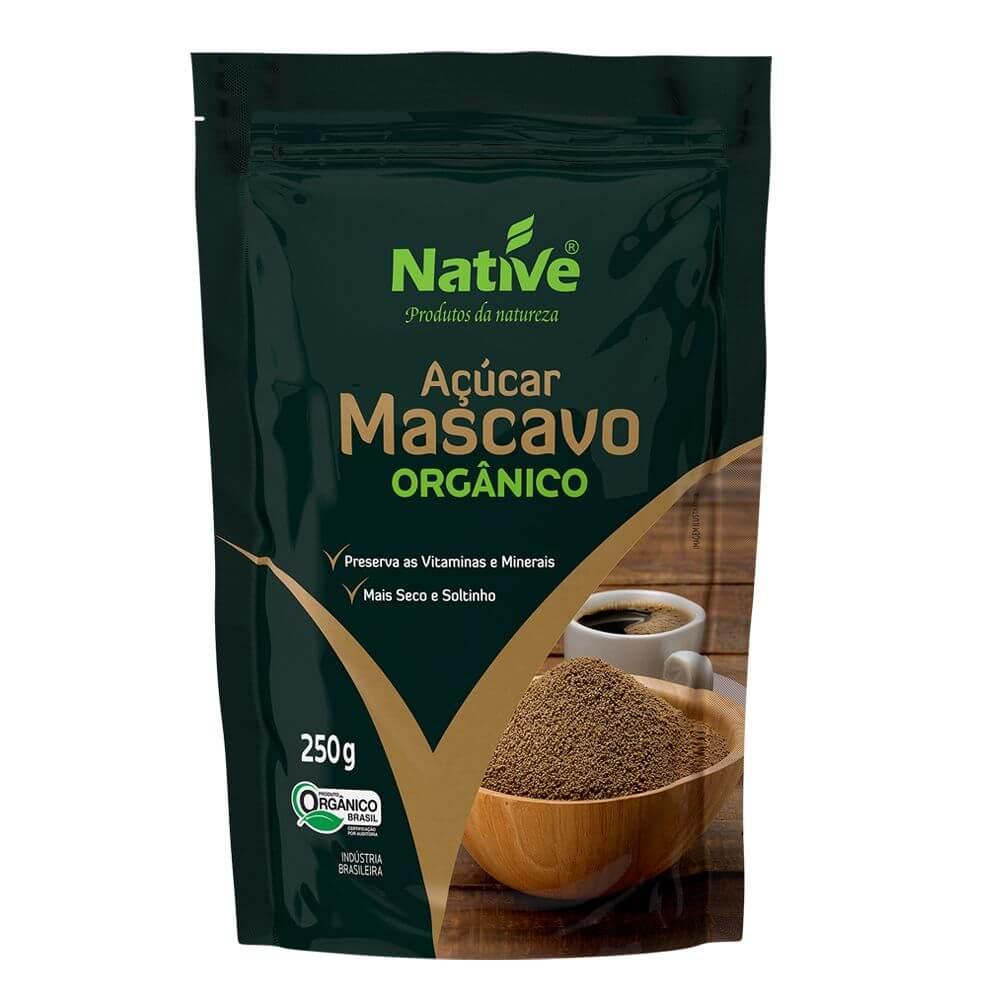 Açúcar Mascavo Orgânico 250g - Native
