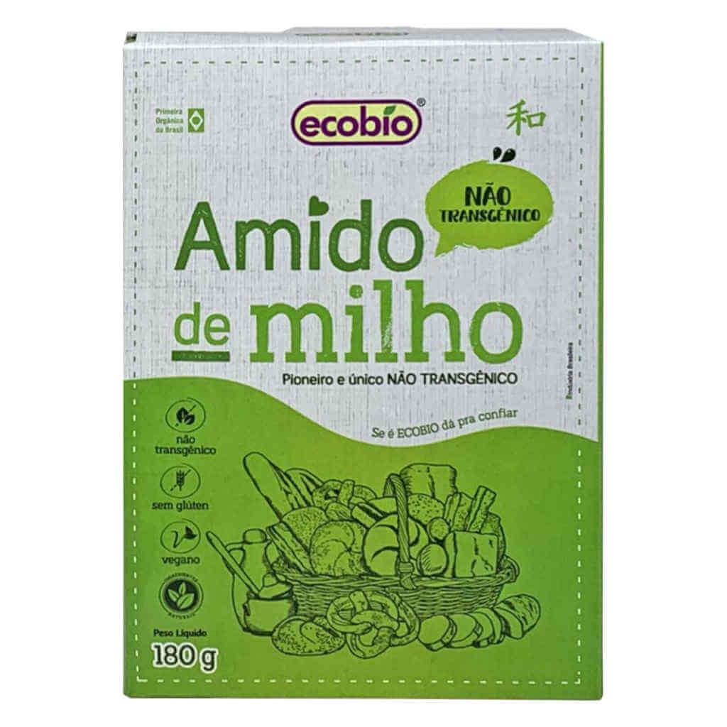 Amido de Milho Não Transgênico 180g - Ecobio