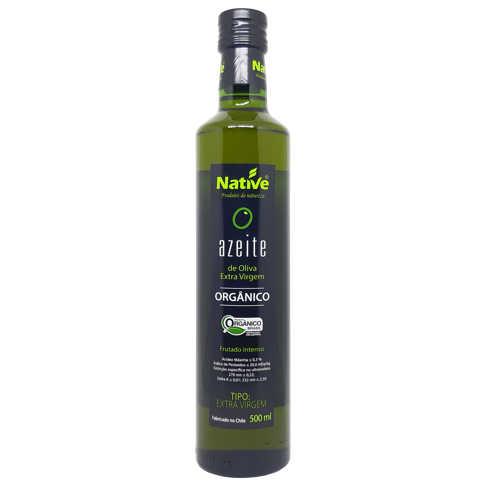 Azeite Orgânico 500ml - Native  - Raiz Nativa - Loja de Produtos Naturais e Orgânicos Online