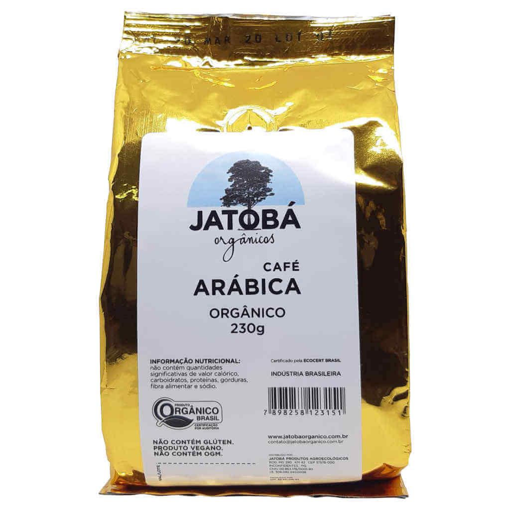 Café Orgânico Arábica Torrado e Moído 230g - Jatobá  - Raiz Nativa - Loja de Produtos Naturais e Orgânicos Online