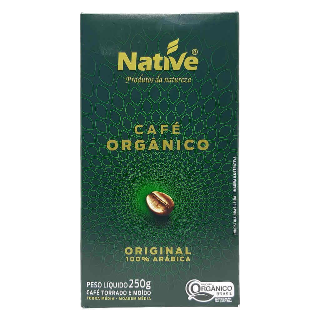 Café Orgânico Torrado e Moído Original 250g - Native