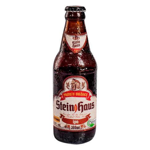 Cerveja Orgânica IPA 300ml - SteinHaus  - Raiz Nativa - Loja de Produtos Naturais e Orgânicos Online