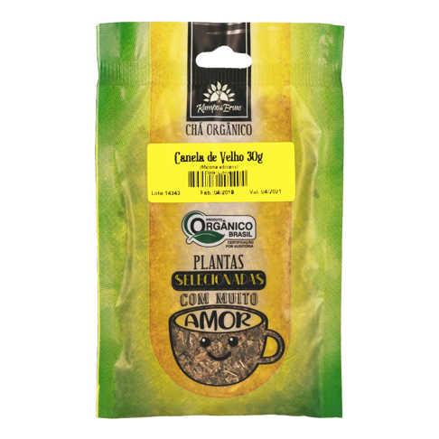 Chá Canela de Velho Orgânico 30g - Kampo de Ervas  - Raiz Nativa - Loja de Produtos Naturais e Orgânicos Online