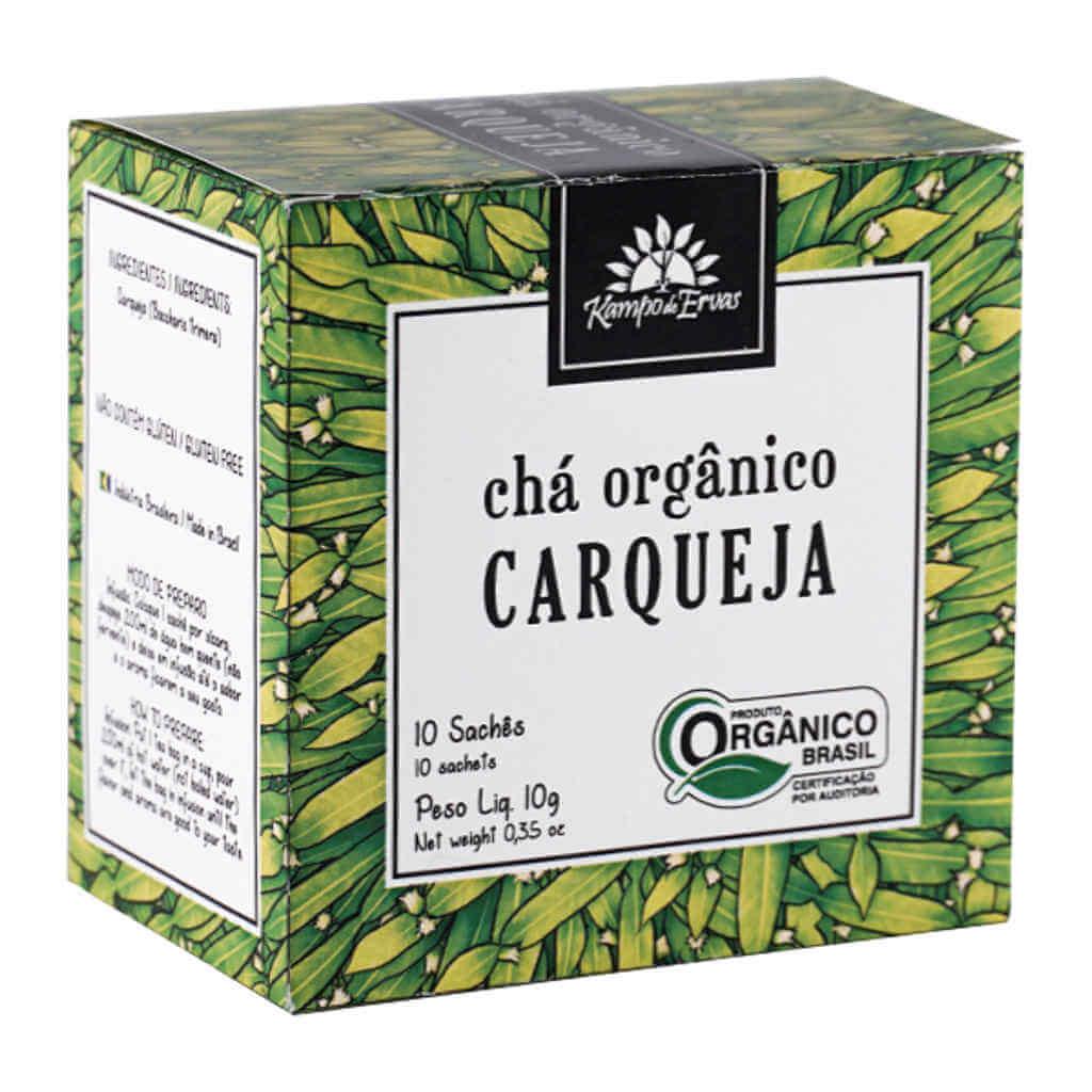 Chá de Carqueja Orgânico 10 Sachês - Kampo de Ervas