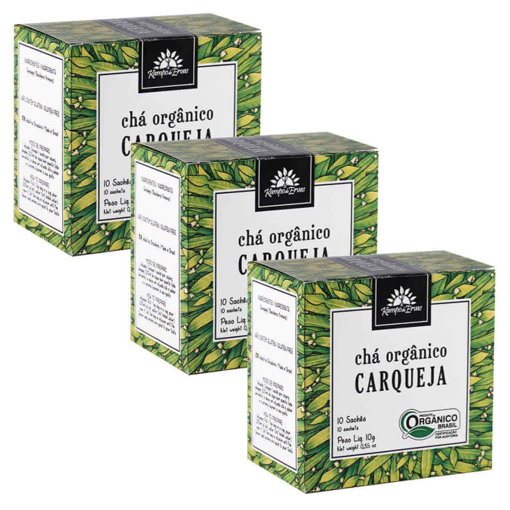 Chá de Carqueja Orgânico - Kampo de Ervas (Kit c/ 30 sachês)