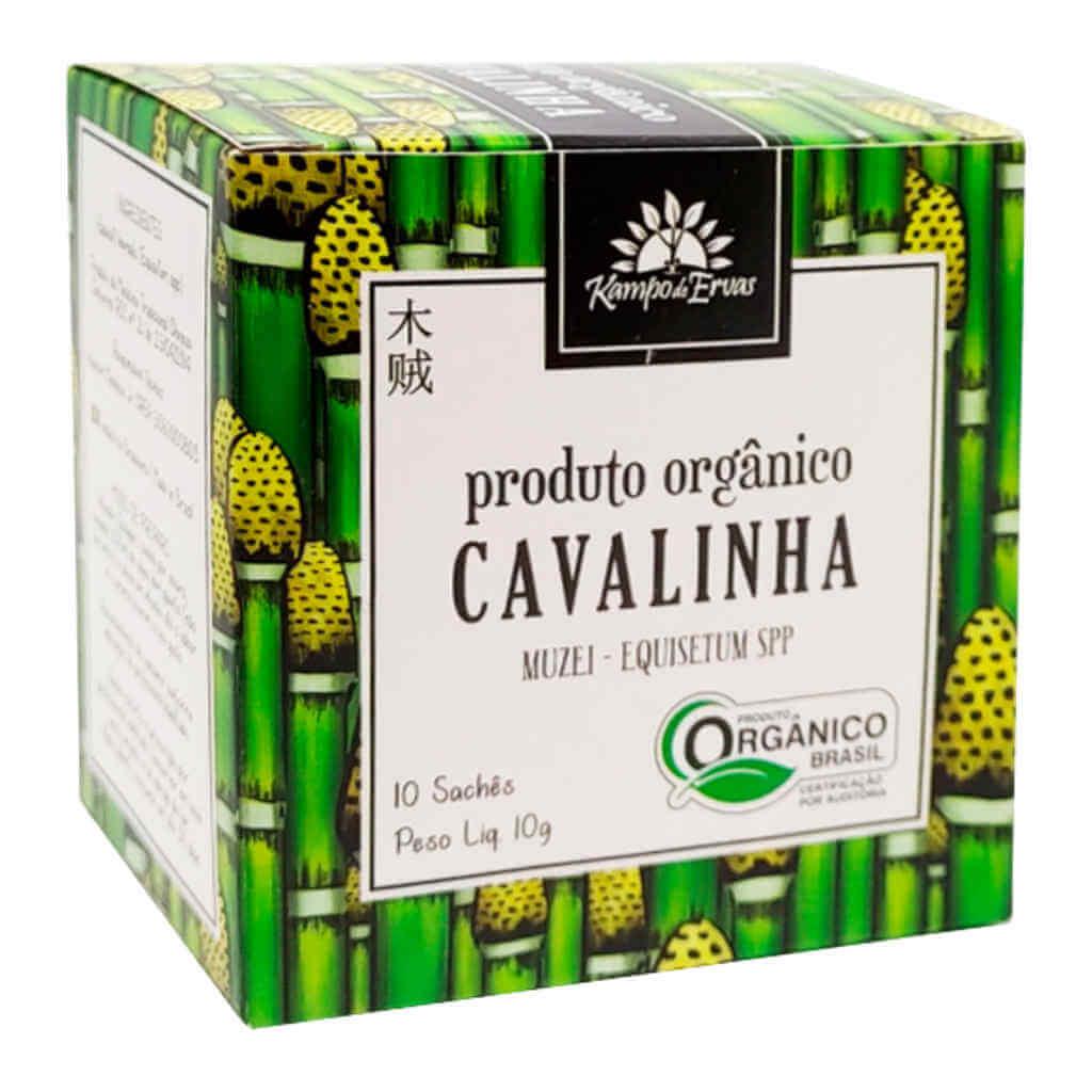 Chá de Cavalinha Orgânico - Kampo de Ervas (Kit c/ 30 sachês)  - Raiz Nativa - Loja de Produtos Naturais e Orgânicos Online