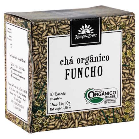 Chá de Funcho Orgânico 10 Sachês - Kampo de Ervas  - Raiz Nativa - Loja de Produtos Naturais e Orgânicos Online