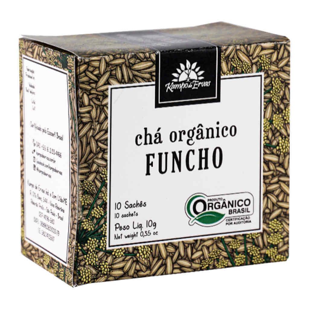 Chá de Funcho Orgânico - Kampo de Ervas (Kit c/ 30 sachês)
