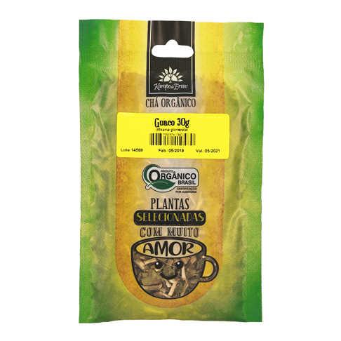 Chá de Guaco Orgânico 30g - Kampo de Ervas  - Raiz Nativa - Loja de Produtos Naturais e Orgânicos Online