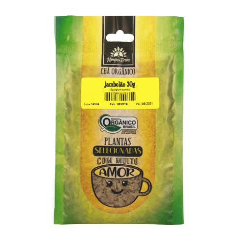 Chá de Jambolão (Jamelão) Orgânico 30g - Kampo de Ervas  - Raiz Nativa - Loja de Produtos Naturais e Orgânicos Online