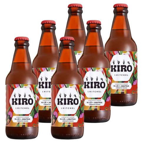 Kiro Maçã e Jiquitaia 310ml - Kiro (Kit c/ 6 unidades)  - Raiz Nativa - Loja de Produtos Naturais e Orgânicos Online