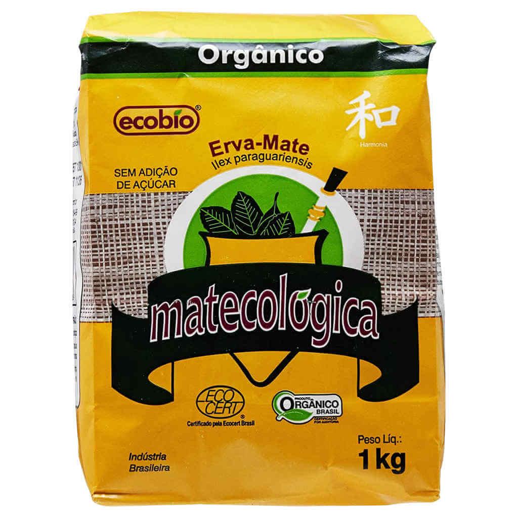 Erva Mate Orgânica para Chimarrão Matecológica 1kg - Ecobio  - Raiz Nativa - Loja de Produtos Naturais e Orgânicos Online
