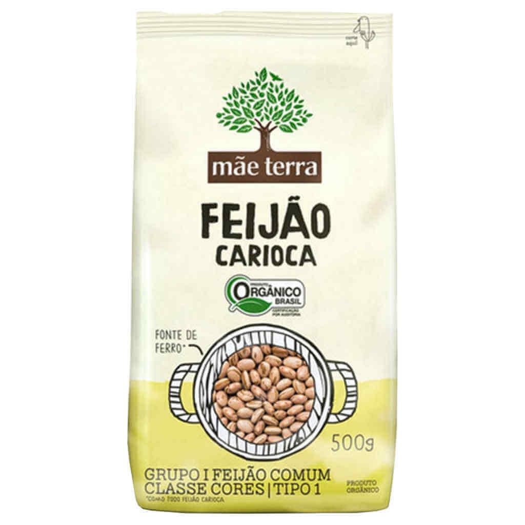 Feijão Carioca Orgânico 500g - Mãe Terra