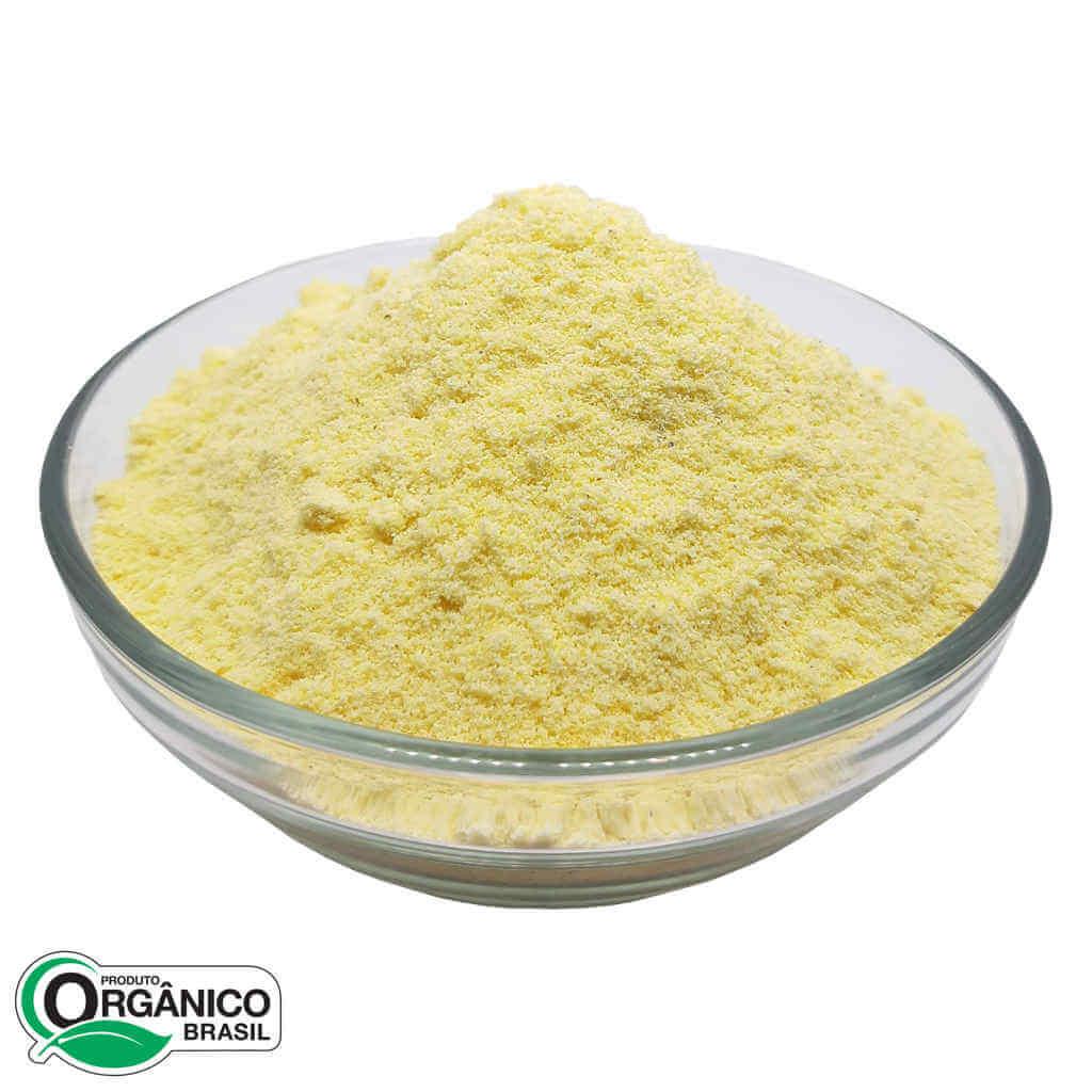 Fubá Orgânico (Farinha de Milho) 400g - Ecobio (Kit c/ 3 unidades)  - Raiz Nativa - Loja de Produtos Naturais e Orgânicos Online