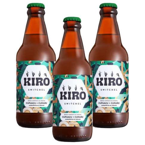 Kiro Cumaru e Cupuaçu 310ml - Kiro (Kit c/ 3 unidades  - Raiz Nativa - Loja de Produtos Naturais e Orgânicos Online