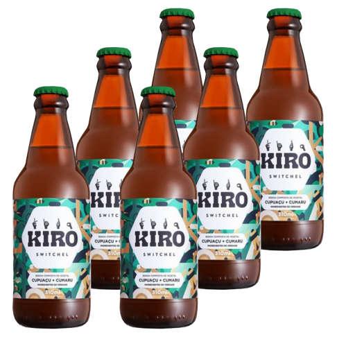 Kiro Cumaru e Cupuaçu 310ml - Kiro (Kit c/ 6 unidades)  - Raiz Nativa - Loja de Produtos Naturais e Orgânicos Online