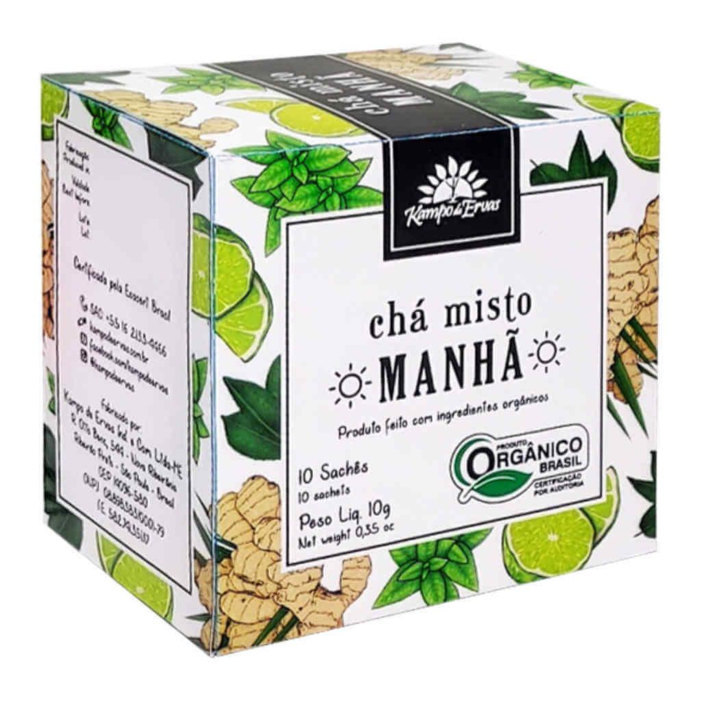 Kit Chá Misto Harmonia - Manhã, Tarde e Noite (Kit c/ 30 sachês)  - Raiz Nativa - Loja de Produtos Naturais e Orgânicos Online