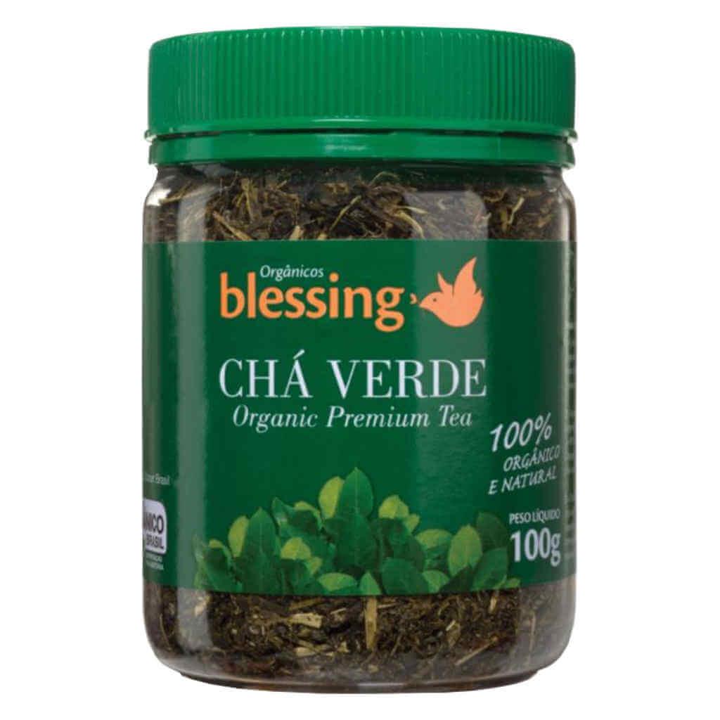 Kit Chá Verde Orgânico Blessing - Japonês e com Maçã  - Raiz Nativa - Loja de Produtos Naturais e Orgânicos Online