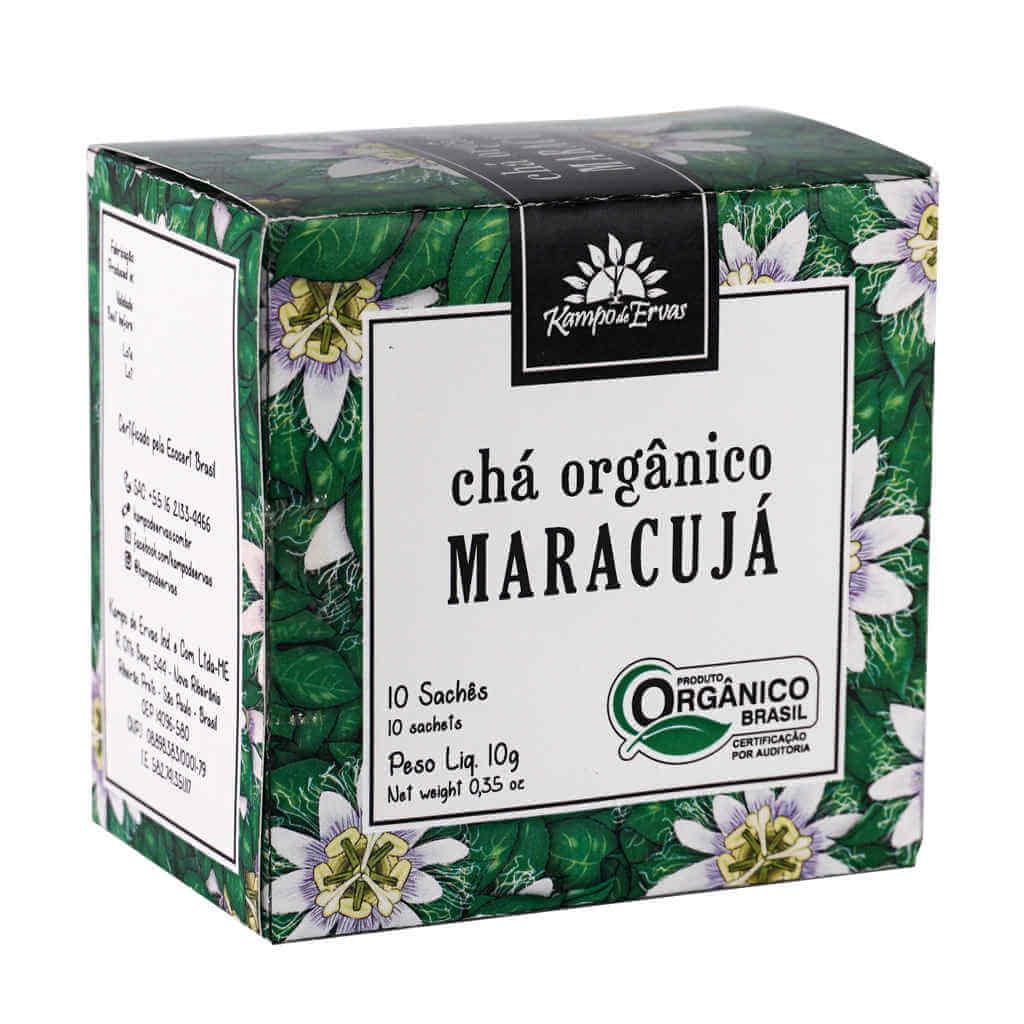 Kit Chás Orgânicos Sachês Kampo de Ervas  - Raiz Nativa - Loja de Produtos Naturais e Orgânicos Online