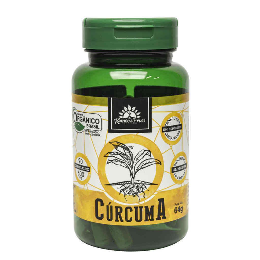 Kit Cúrcuma Orgânica Kampo de Ervas