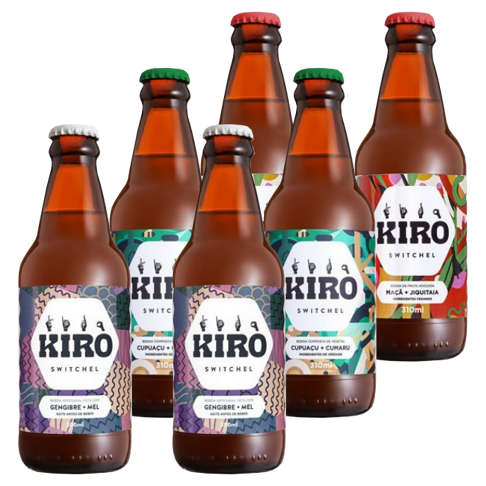 Kit Kiro Degustação - 3 sabores (6 unidades)  - Raiz Nativa - Loja de Produtos Naturais e Orgânicos Online
