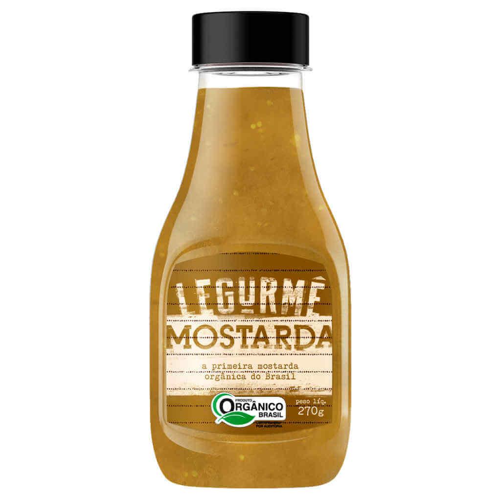 Kit Lanche Molhos Orgânicos Legurmê - Ketchup, Mostarda e Barbecue