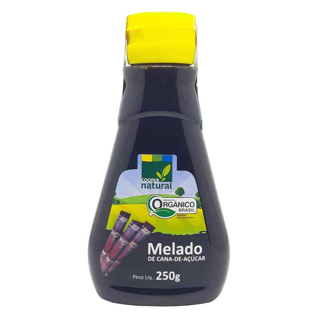 Melado de Cana Orgânico 250g - Coopernatural (Kit c/ 3 unidades)