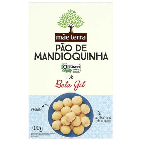 Mistura para Pão de Mandioquinha Bela Gil Orgânico 300g - Mãe Terra  - Raiz Nativa - Loja de Produtos Naturais e Orgânicos Online