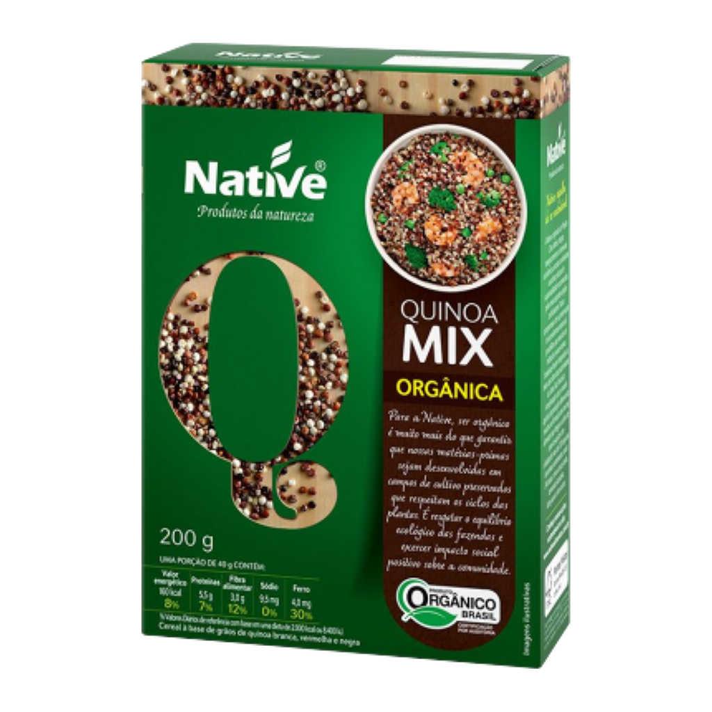 Mix de Quinoa Orgânica em Grãos 200g - Native