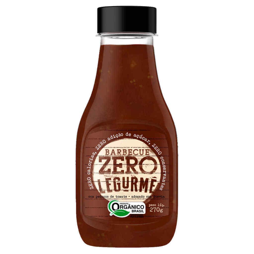 Molho Barbecue Pronto Zero Orgânico 270g - Legurmê (Kit c/ 3 bisnagas)  - Raiz Nativa - Loja de Produtos Naturais e Orgânicos Online
