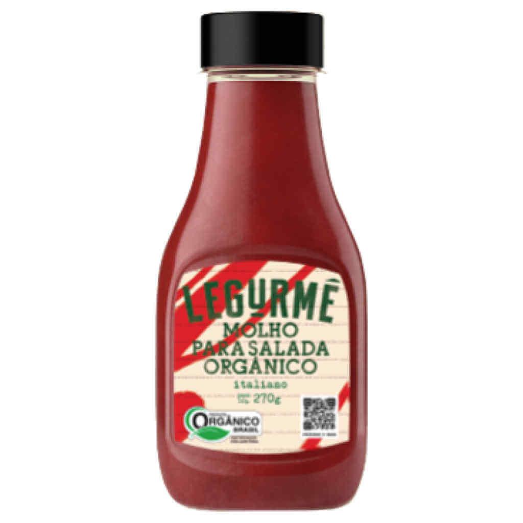 Molho Pronto para Salada Italiano Orgânico 270g - Legurmê