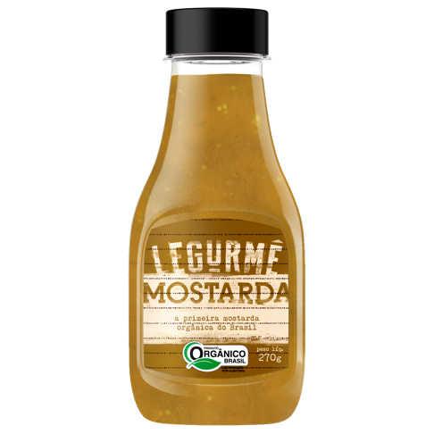 Mostarda Orgânica 270g - Legurmê  - Raiz Nativa - Loja de Produtos Naturais e Orgânicos Online
