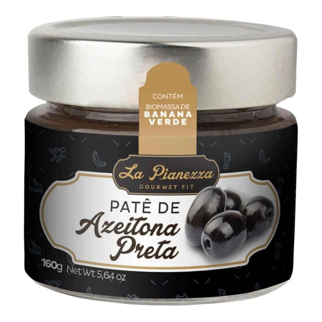 Patê de Azeitona Preta 160g - La Pianezza