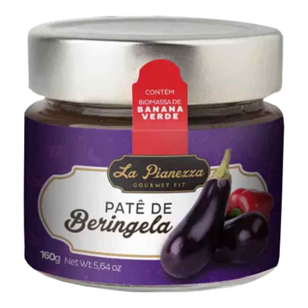 Patê de Berinjela 160g - La Pianezza  - Raiz Nativa - Loja de Produtos Naturais e Orgânicos Online
