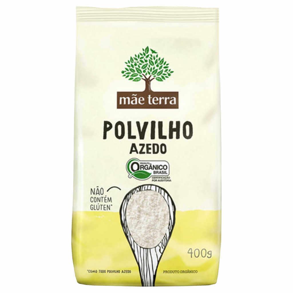 Polvilho Azedo Orgânico 400g - Mãe Terra (Kit c/ 3 unidades)  - Raiz Nativa - Loja de Produtos Naturais e Orgânicos Online
